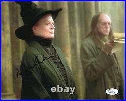 Maggie Smith Harry Potter Autographed Signed 8x10 Photo JSA COA #1