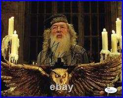 Michael Gambon Harry Potter Autographed Signed 8x10 Photo JSA COA 13