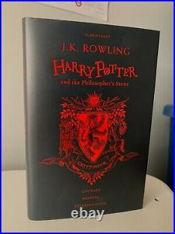 PROOF Daniel Radcliffe signed Harry Potter and the Philosopher's Stone Book