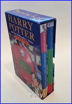 Rare Harry Potter Box Gift set 1998 Phil. 1 St/ 5 Th with Chambers 1 St/ 10 Th