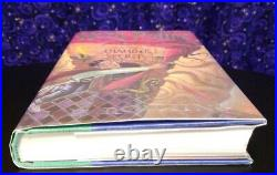 SIGNED Mary Grandpre Harry Potter & the Chamber of Secrets by JK Rowling 1999 HC