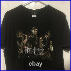 Vintage Harry Potter T Shirt The Goblet of Fire Adult Large Movie Promo Original